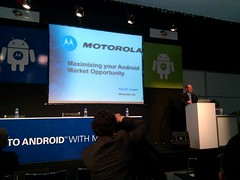 Motorola getting their droid on