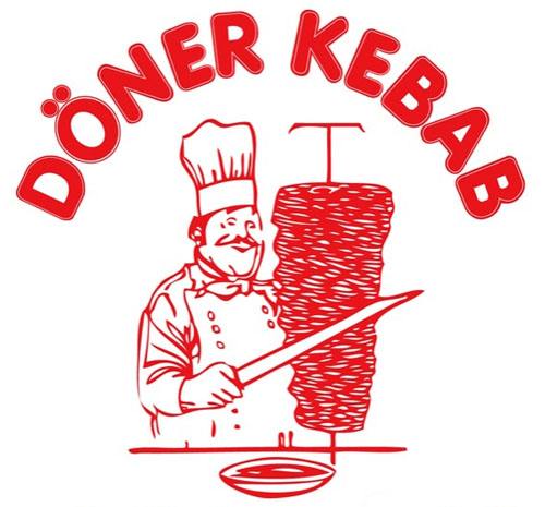 Sobre típico de döner kebab