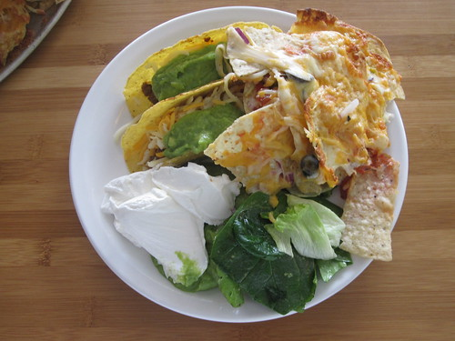 Nachos, tacos, salad from the bistro - $6