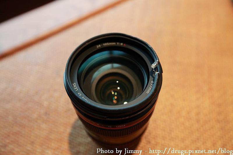 Canon EF 24-105 L 1.5公尺自由落體掉落實測