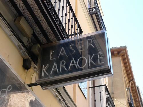 Not just karaoke LASER KARAOKE