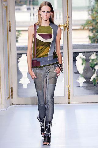Patchwork denim jeans Balenciaga SS2010
