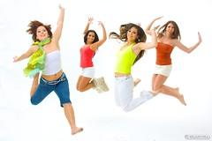 Jump! (dLux.hu) Tags: studio fun jump dori virag viki babinkuk