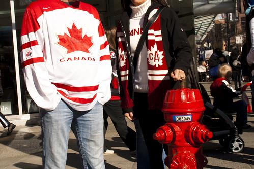 Canada, Canada, borne incendie