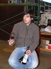 En Josep comentant el Llavors 2008