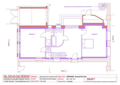 102 PROPOSED - Ground Floor Plan