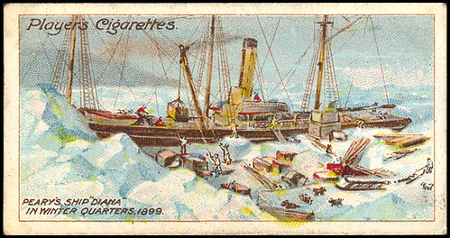 """Peary's Ship """"Diana,"""" 1899"""