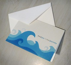 Find Joy In The Journey Notecards (waves) (Have Joy Designs) Tags: blue color modern illustration digital paper design graphicdesign utah waves graphic contemporary joy card journey blank envelope illustrator mormon monson lds notecard havejoy findjoy