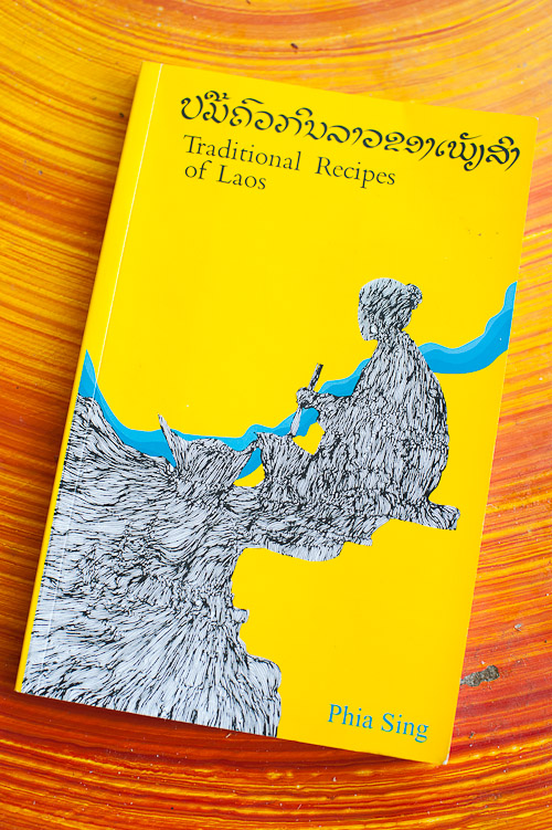 The Traditional Recipes of Laos, written by Phia Sing and edited by Alan Davidson