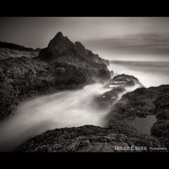 Rugged Oregon Coast (Jesse Estes) Tags: oregon landscape coast rocks waves jesseestesphotography