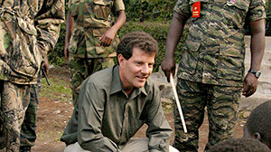 Nick Kristof in Congo