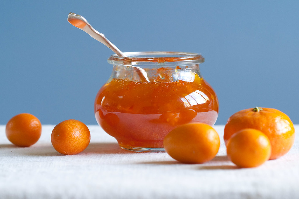 Clementine-kumquat marmalade