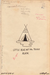 MSNTCE: Day 67 (Willbryantplz) Tags: indian teepee bedwetter littlebear