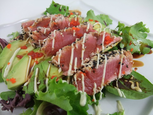 Pan-Seared Sesame-Crusted Tuna