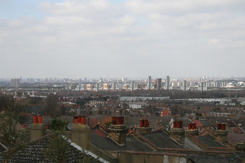 The view from Plumstead Common - 2