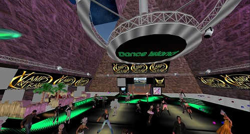 dance island party zone