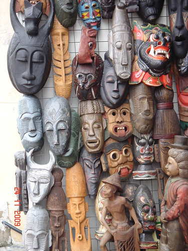 DSC01974 Wood Carving Masks , 木雕面具
