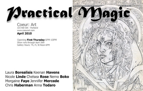 Practical Magic Art Opening