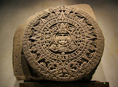 aztec sun stone (Xuan Che) Tags: city travel winter sculpture sun history stone museum mexico ancient december calendar aztec 2006 relief canonixus400 zocalo prehispanic piedradelsol nacionalantropología