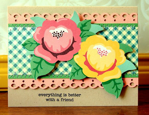everything's better with a friend card