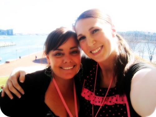 Mama Kat and Tiffany