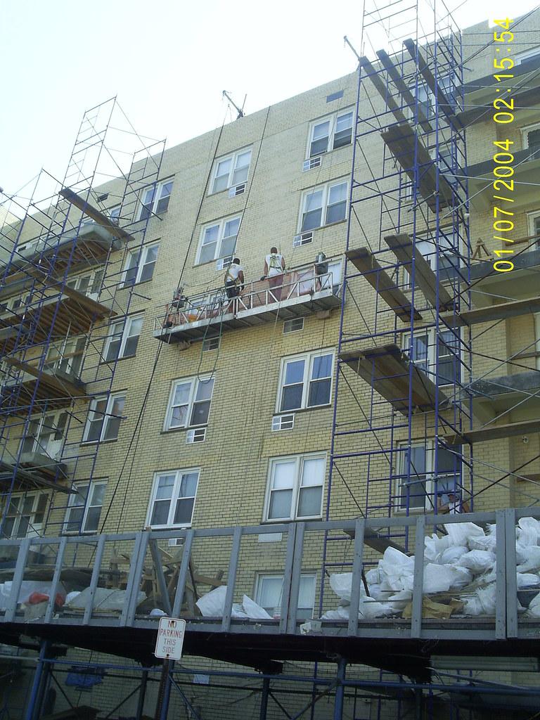 Restoration York Corporation: More Scaffolding! York Restorations Corporation