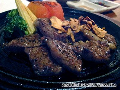 Wagyu beef steak!
