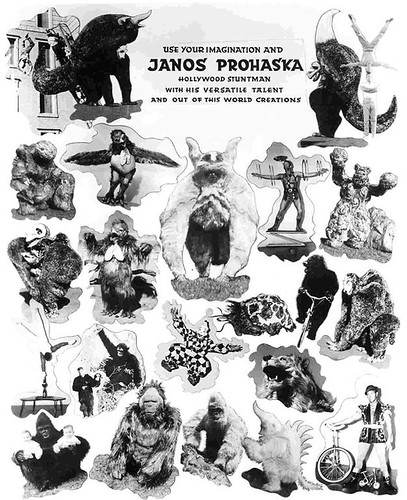 JANOS PROHASKA Promotional piece
