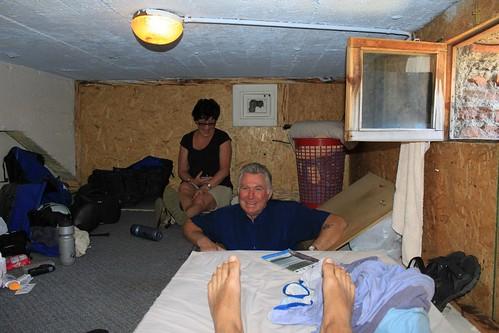 My room at La Bolsa in Bariloche