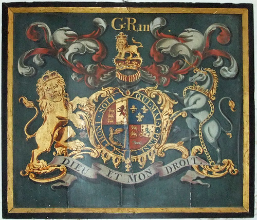 Royal Coat of Arms, Risby Church