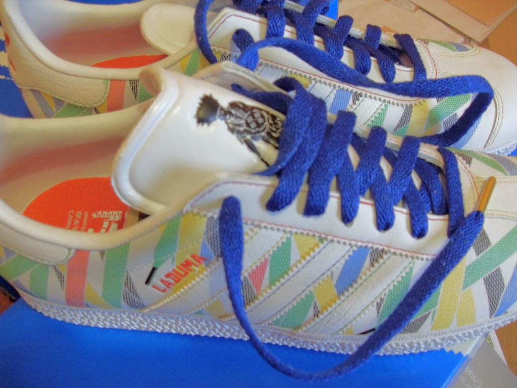 cheap for discount a9b70 ffb76 Adidas Originals Gazelle Laduma Trainer in White (5C05.2) (autekiller) Tags