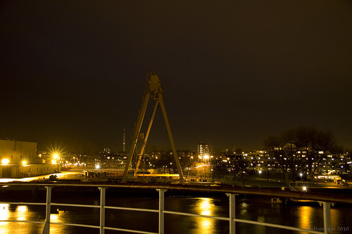 Katendrecht at night