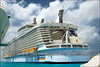 Aft view - Oasis of the Seas (amycicconi) Tags: travel cruise vacation port pier photo dock balcony cruising oasis balconies d200 docked royalcaribbean aft rccl nikond200 cruisetravel aquatheater amystrycula strycula astrycula aquatheatre oasisoftheseas
