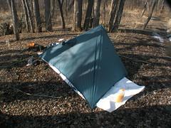 CampMor Silnylon Poncho Tent