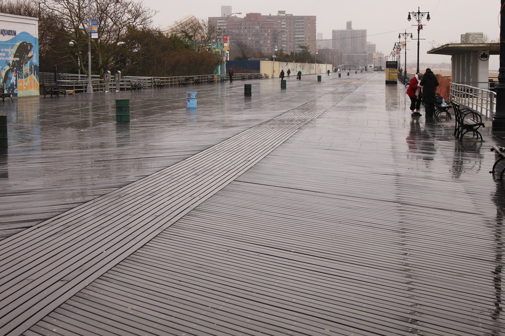 Riegelmann Boardwalk, Coney Island