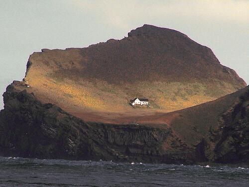 BJORK: Elliðaey near Vestmannaeyjar by CascoBayBoaters.