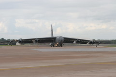 Boeing B-52H Stratofortress of the US Air Force at RIAT 2005 at Fairford (Ian Press Photography) Tags: 2005 plane us force aircraft military air transport boeing usaf b52 fairford riat stratofortress b52h