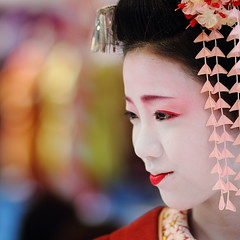 Japan : Colours (momoyama) Tags: portrait people girl beautiful beauty face japan canon bokeh 7d