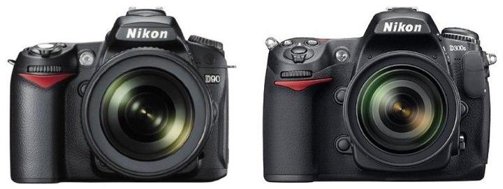 Nikon D90 vs Nikon D300S