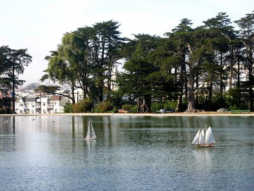 sailboat in golden gate park