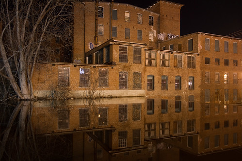 Jeremiah True: Mill Building Reflection #1