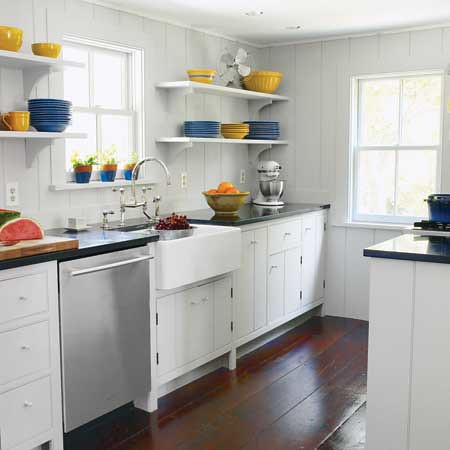 Kitchen Remodeling A Before And After For A Small Galley Kitchen