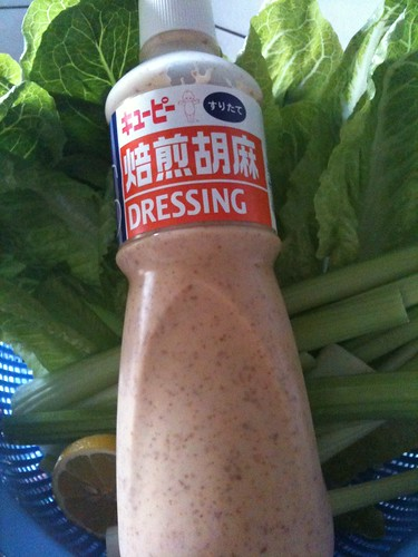 Japanese Creamy Sesame Salad Dressing