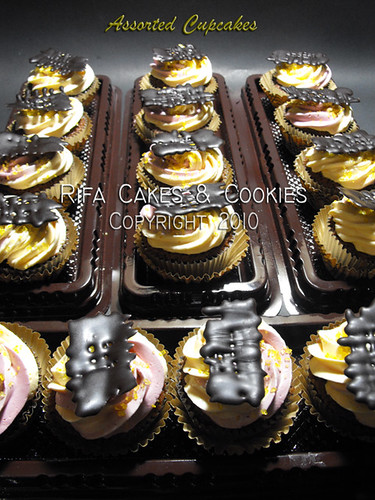 Assorted Cupcakes from http://rifacakes.blogspot.com