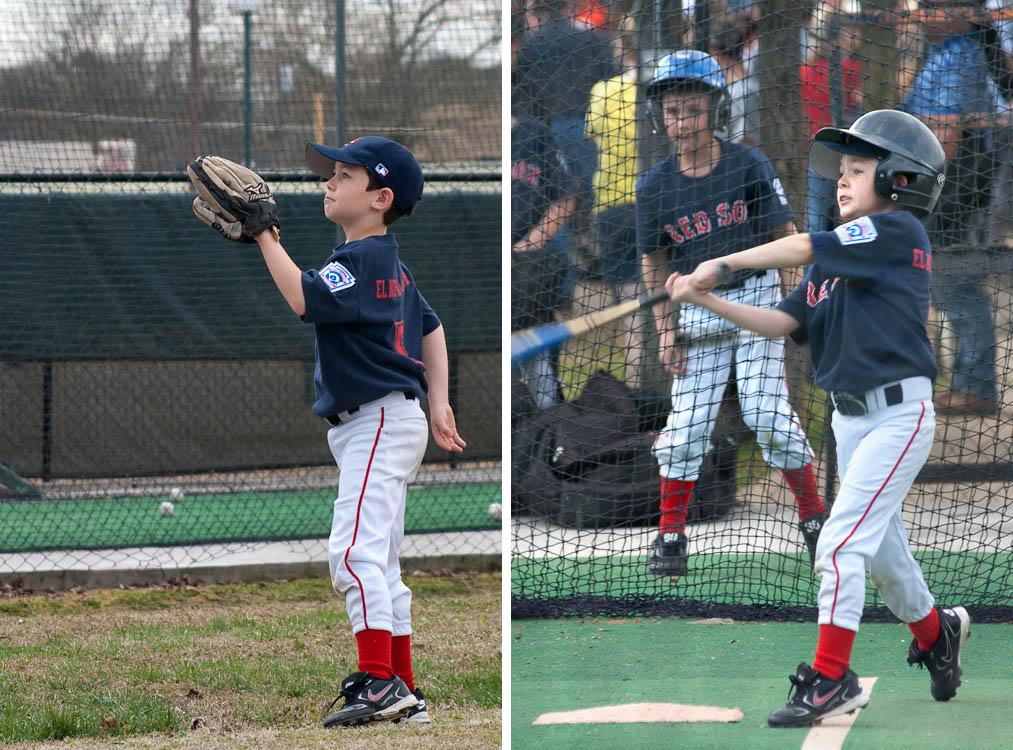 Keegan Plays Baseball