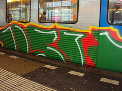 (Amsterdams staal) Tags: holland netherlands amsterdam subway graffiti panel metro sub panels graff piece