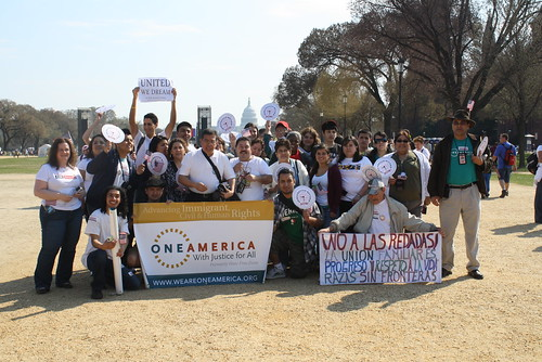 WIRC delegation at the March for America