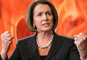 GOP setting fire on Pelosi image