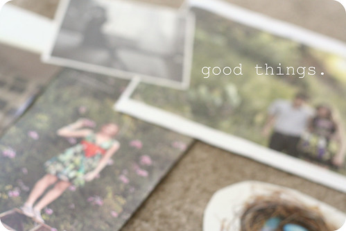 good things.