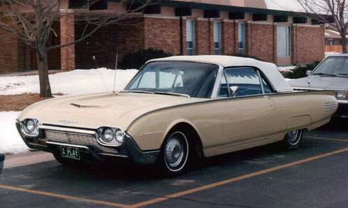 1961 Ford Thunderbird Convertible. 1961 Ford Thunderbird